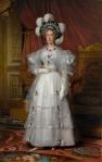 Louis Hersent, la reine Mare Amélie